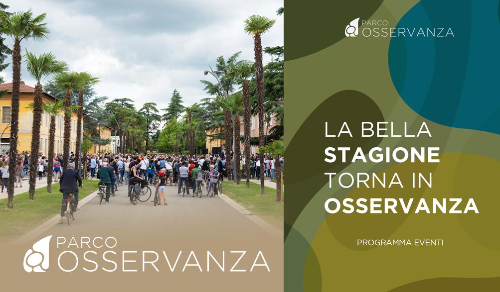 Programma Eventi Settembre 2017 - Parco Osservanza